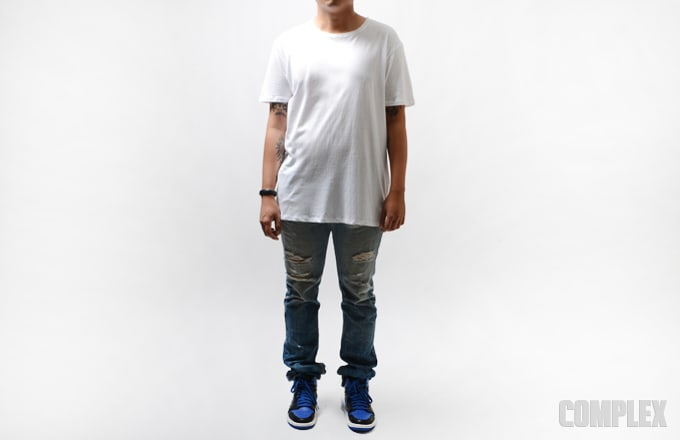 A p c kanye approximate retail 90 what makes a t for Apc white t shirt