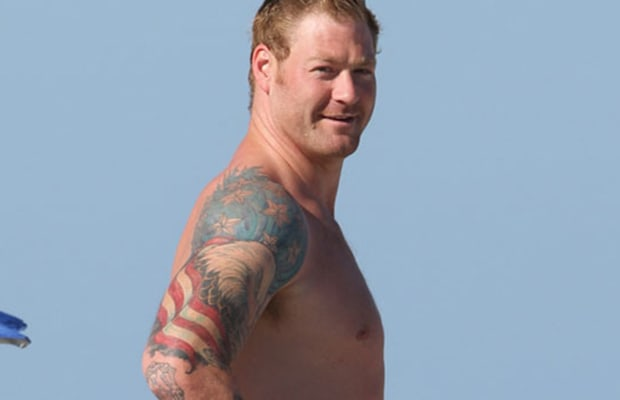 Jeremy shockey bald eagle the worst tattoos in nfl for Nfl tattoos gallery
