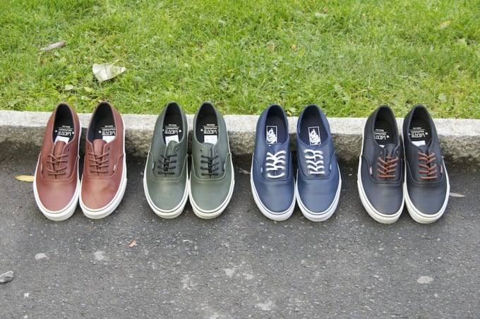 Vans Authentic Leather Fall Winter 2012  359e3539d509