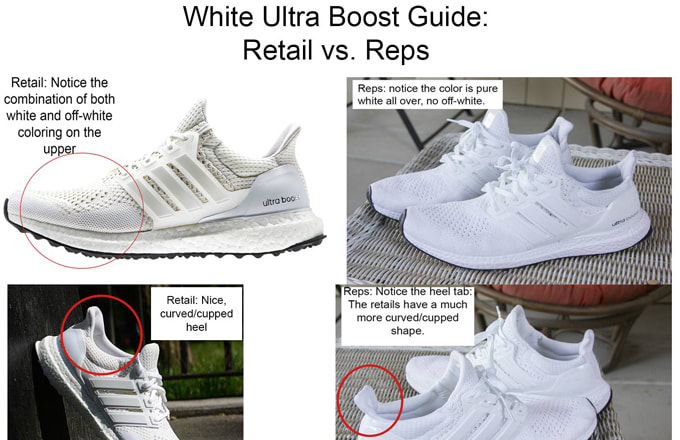 How To Tell If Your White Adidas Ultra Boosts Are Fake Complex