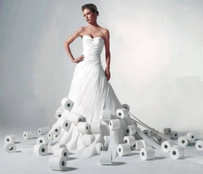 A Toilet Paper Wedding Dress Design Contest Now Open For Submissions