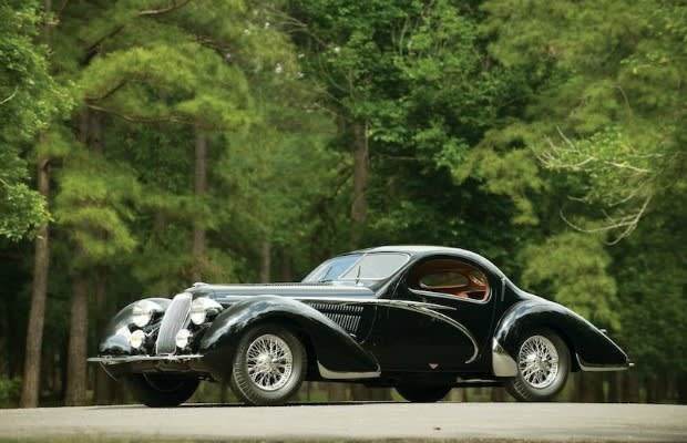 1938 Talbot Lago T150 C Lago Speciale Teardrop Coupe
