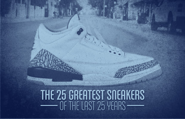 7ace3b64c The concept was simple enough - look back at the past 25 years and pick the  best new sneaker model introduced in each year. That is