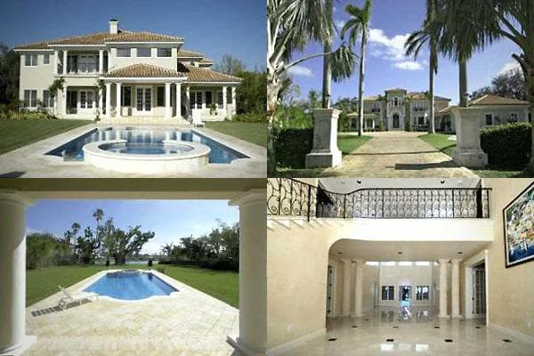 Indian Creek Village Mansion of Beyonce