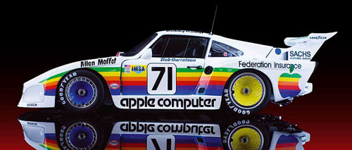 1980 porsche 935 k3 apple computer the 50 greatest race car liveries complex. Black Bedroom Furniture Sets. Home Design Ideas