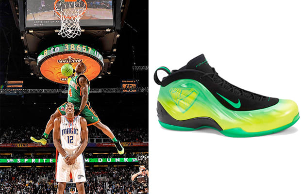 A Complete Guide To The Sneakers Worn By NBA Slam Dunk Champions ... c0359f40abe8