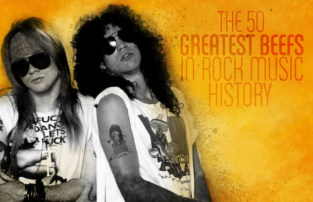 6f232aed460 The 50 Greatest Beefs in Rock Music History