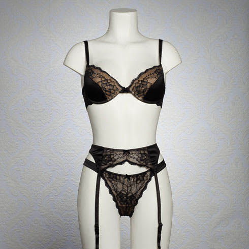 08ea906c03a7c What if your girl feels insecure about wearing skimpier lingerie  What s  the best way to make her feel comfortable