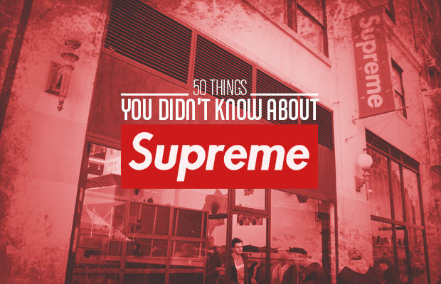 829de6a3951 Few brands are as polarizing as Supreme. Either you love it