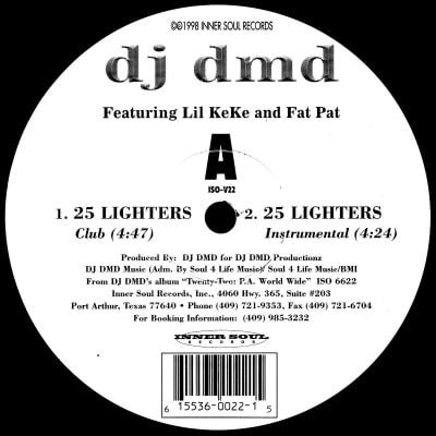 25 Lighters On My Dresser Yes Sir By Dj Dmd F Lil Keke Amp Fat Pat