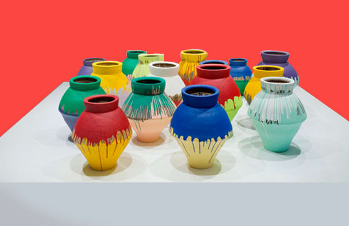 Colored Vases 2010 20 Ai Weiwei Pieces You Should Know Complex