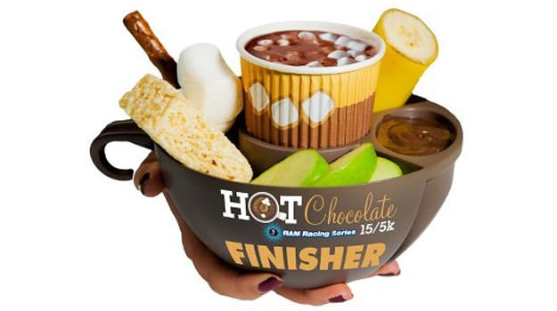 Hot Chocolate 15K Finisher Mug