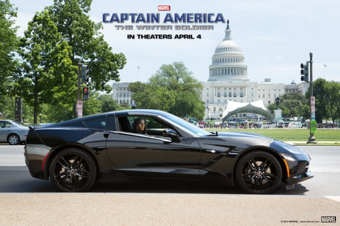 Chevrolet Corvette Stingray для фильма Капитан Америка - Зимний солдат