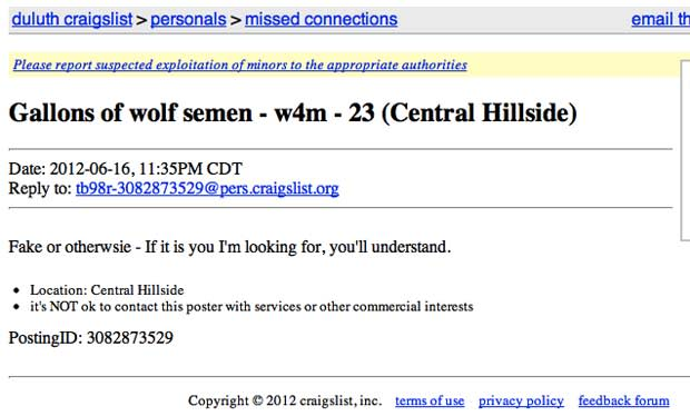 Is craigslist good for dating