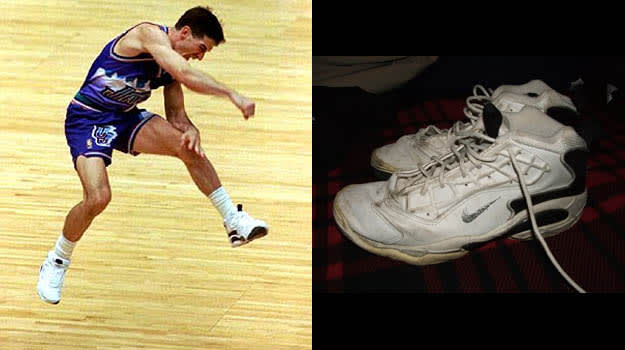 promo code 48bbc efbfe John Stockton in the Nike Air Zoom Challenege