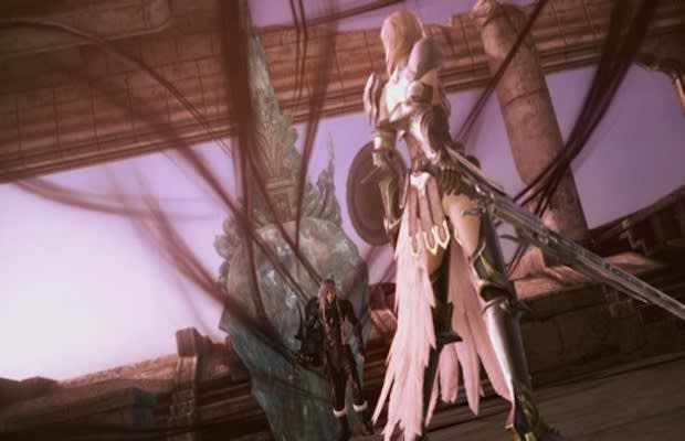 lightning and snow become playable in the last final fantasy xiii 2