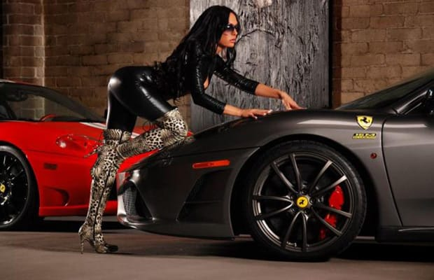 Gallery 80 Pictures Of Hot Girls And Ferraris  Complex-4721
