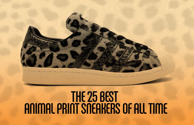 You don t have to work for PETA to notice that animal prints on sneakers  are all the rage these days. Though Tinker Hatfield has been putting prints  from ... 35fe803d4