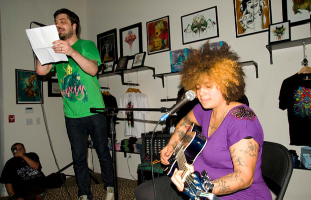 Live Show Alert: Aesop Rock & Kimya Dawson in Madison, Wis