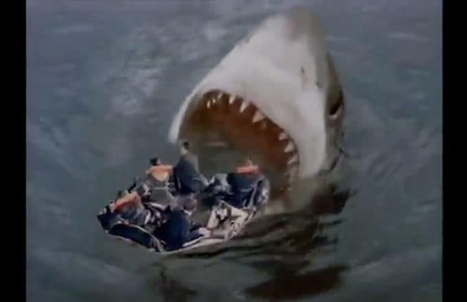 3 Headed Shark Attack Gif