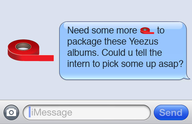 Red Tape - 15 Kanye West-Inspired Art and Design Emojis We ...