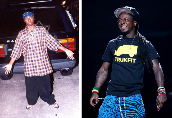 lil wayne started from the bottom how celebrities used