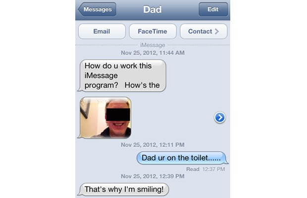 30 inappropriate text messages sent by parents complex