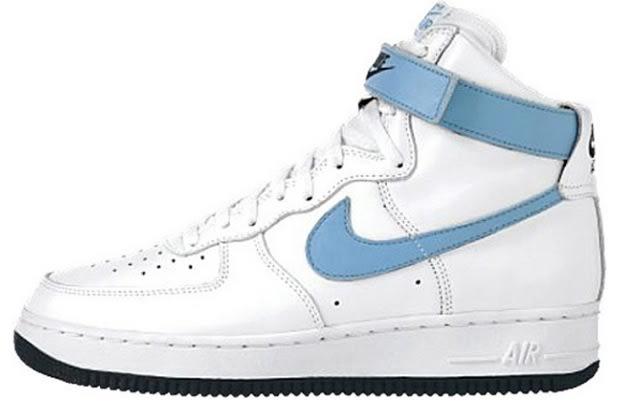 "new concept c6cb6 47af0 Air Force 1 High ""Carolina"""