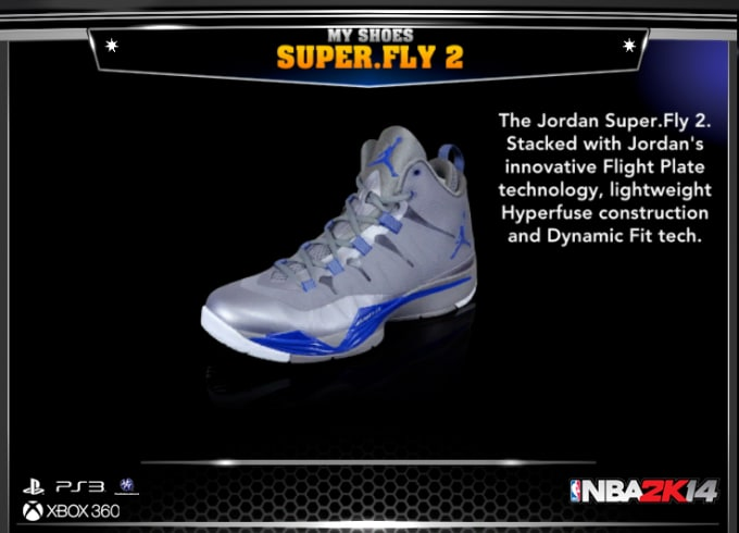 Fly 2 was one sneaker that had to make it into this game. It is the biggest  performance Jordan sneaker of the year outside of the Air Jordan XX8. 512e23b833aa