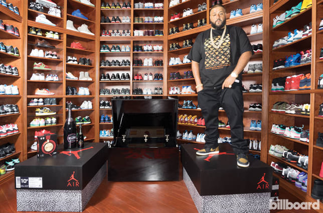 DJ Khaled Finally Reveals How Large His Sneaker Collection Is 14dd20788