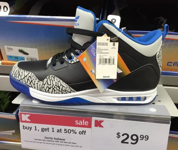 0343f95c68f9c1 Kmart s  30 Air Jordan Knockoffs Are the Definition of Struggle ...