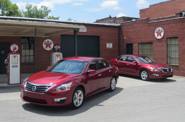 The Fifth Generation Of The Nissan Altima Will Hit Showrooms And Dealer  Blacktop With The 2013 Model This July As The First Of Five Overhauled  Nissan ...