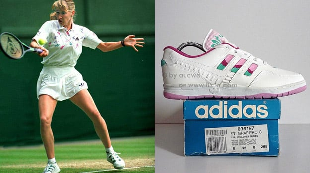 Steffi Graf in the adidas S Graf Pro C