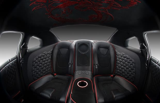 nissan gt r the 50 most outrageous custom car interiors complex. Black Bedroom Furniture Sets. Home Design Ideas