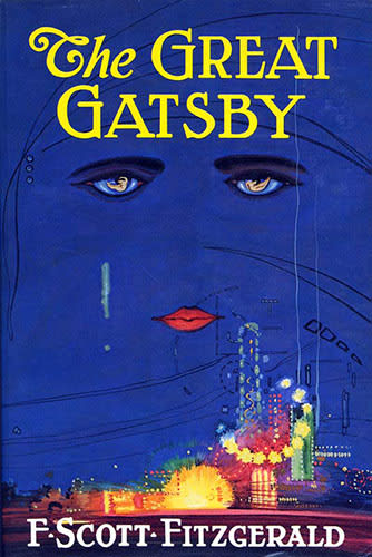 Image result for great gatsby book