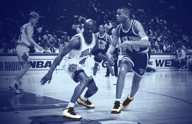 buy online e71e2 b8036 15 NBA Players Wearing Air Jordans Against Michael Jordan