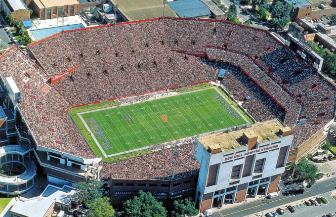 21 Ben Hill Griffin Stadium The Swamp The 25 Coolest