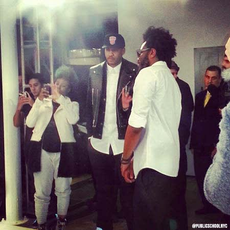Carmelo Anthony - Gallery: Celebrities Looking Bored at ...