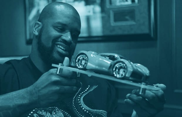 brand new 57a6c 07cc4 Any time Shaq tries to fit in a car that s not a gigantic Escalade or a  Rolls-Royce, it makes for a hilarious sight. smart cars, children s toys,  ...