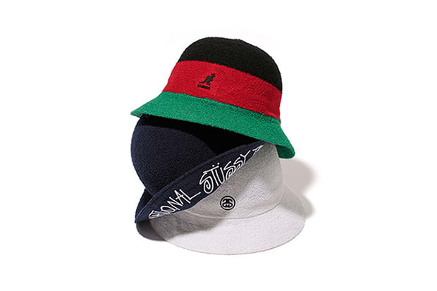 4d262393d50 Kangol and Stüssy have Teamed up for Some Classic Bermuda Bucket ...