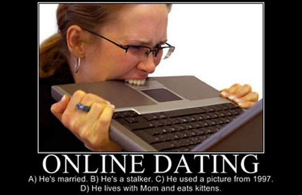 Online dating pool
