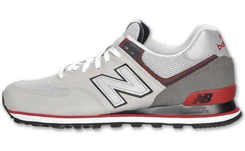separation shoes 1ace0 3d29a New Balance 574 Grey/Black-Red   Complex