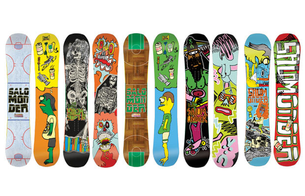 16 Salomon Salomander The 25 Best Snowboard Graphics