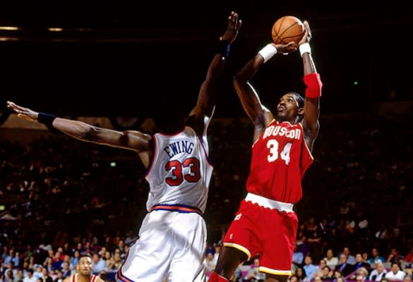 Hakeem Olajuwon - The 25 Greatest Playoff Performers in NBA History | Complex
