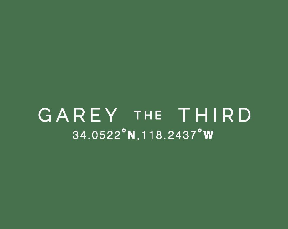 Garey The Third