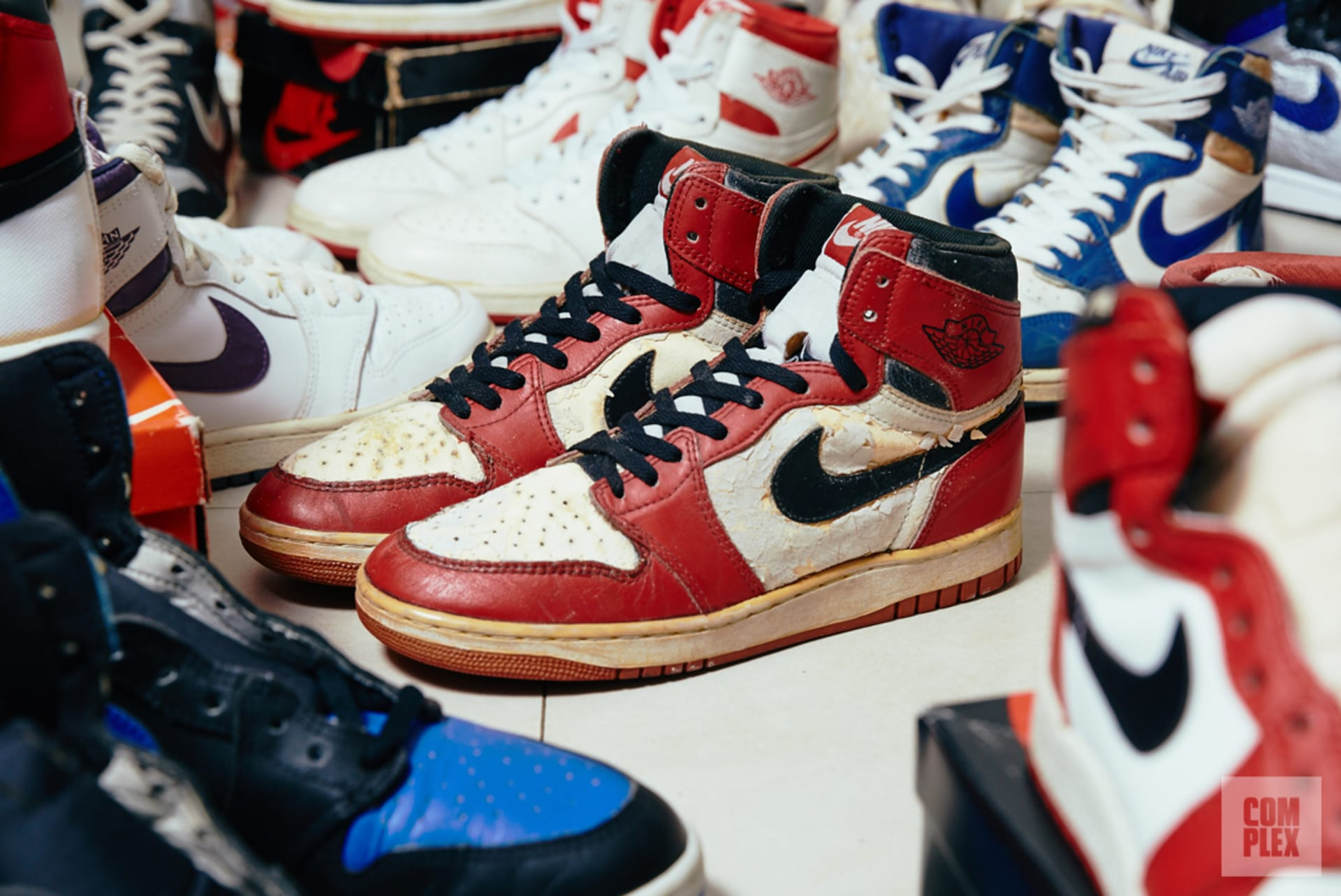 Meet the 17-Year-Old With the Best O.G. Air Jordan 1 Collection ...