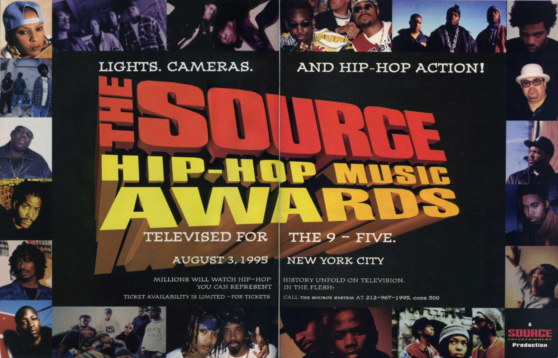 How the 1995 Source Awards Changed Rap Forever | Complex