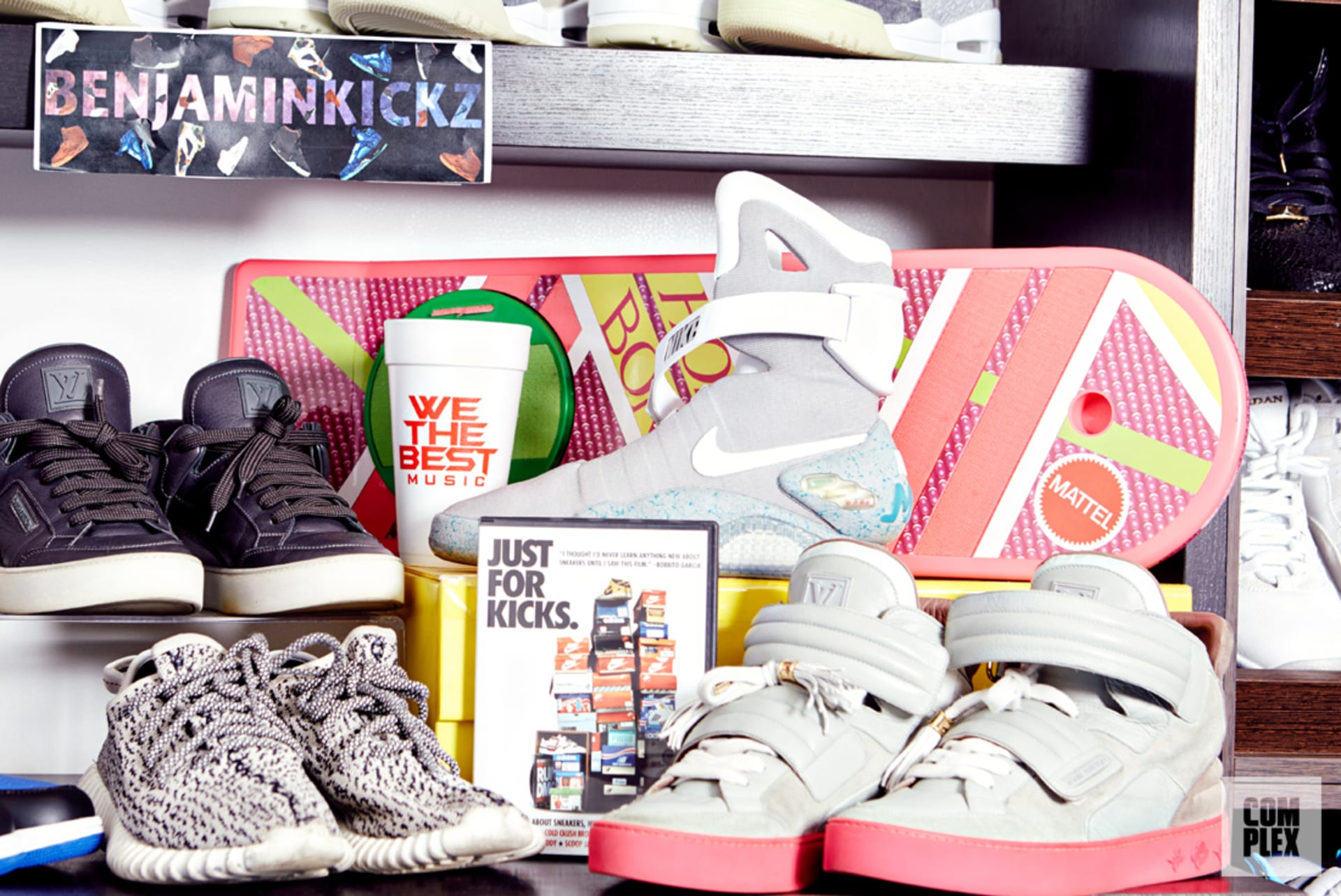 """7c278474a1f I thought to myself, 'If I want to keep buying sneakers, I'm going to  figure out a way to get the money.'"""""""