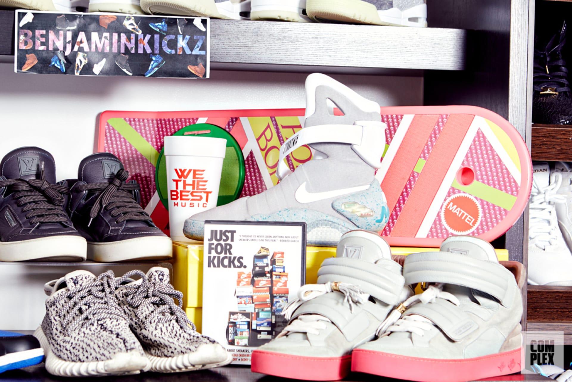 2a5c414d3e909 Meet the Plug: Benjamin Kickz, The Teenage Sneaker Mogul | Complex