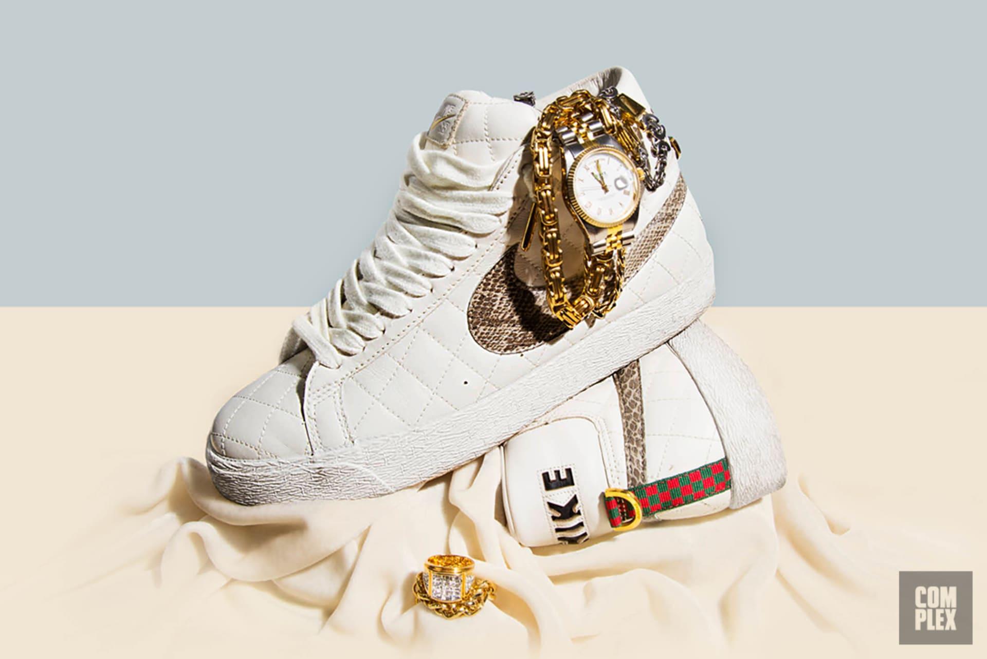 the latest eb341 fbd92 The Supreme x Nike Blazer SB 10th Anniversary | Complex